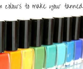 Nail Polish Colours To Make Your Tanned Skin Pop TheFuss.co.uk