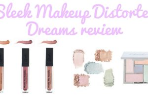 Sleek Makeup Distorted Dreams Collection Review TheFuss.co.uk