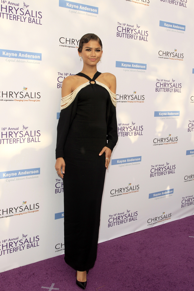 Zendaya chooses a beautifully elegant look for the red carpet TheFuss.co.uk