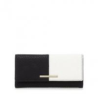 J By Jasper Conran Black And White Colour Block Large Purse
