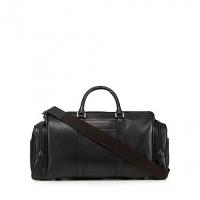 J By Jasper Conran Black Leather Holdall Ba