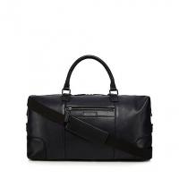 J By Jasper Conran Black Leather Large Holdall Ba