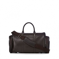 J By Jasper Conran Designer Brown Grain Leather Holdall