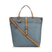 J By Jasper Conran Light Blue Canvas Trim Shopper Ba