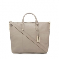 J By Jasper Conran Taupe Large Leather Tote Ba