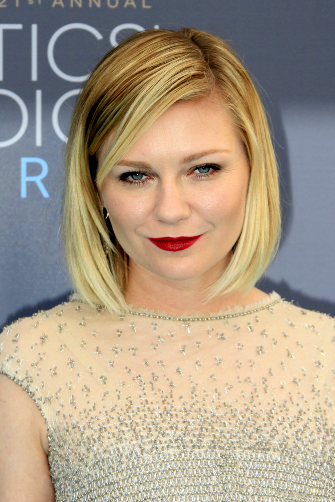 Kirsten Dunst Critics Choice Awards 2016 Kathy Hutchins Shutterstock Com