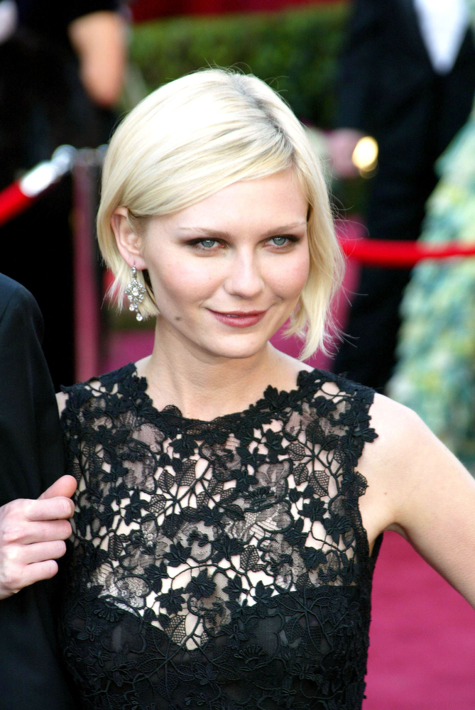 Kirsten Dunst Oscars 2005 Everett Collection Shutterstock Com