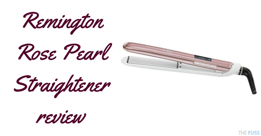 Remington Rose Pearl Straightener Review TheFuss.co.uk