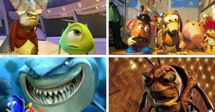 The best Pixar scene stealers TheFuss.co.uk
