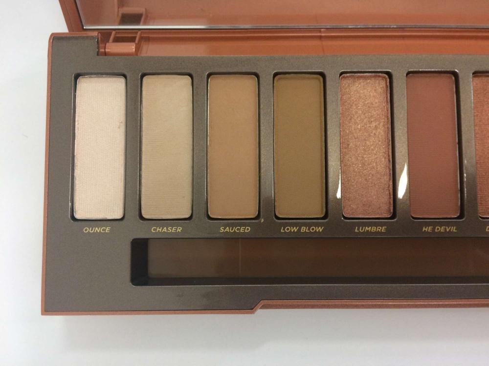 Urban Decay Naked Heat Palette eyeshadow shades TheFuss.co.uk