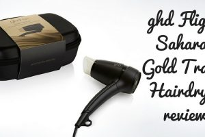 Ghd Flight Saharan Gold Travel Hairdryer Review TheFuss.co.uk