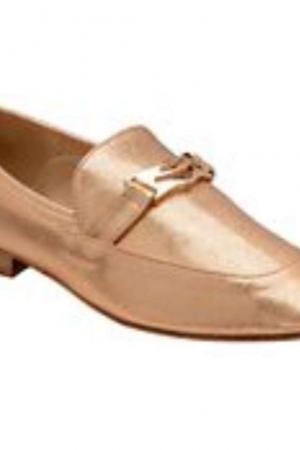 Dolcis Rose Gold 'Jolie' Ladies Slip On Loafers