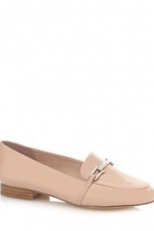 Faith Pink Patent 'Abi' Loafers