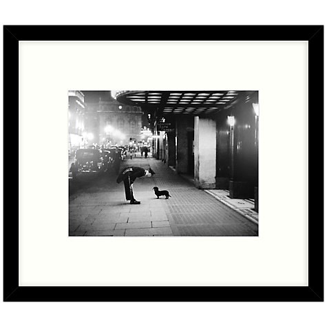 Getty Images Gallery Commissionaire's Dog Framed Print