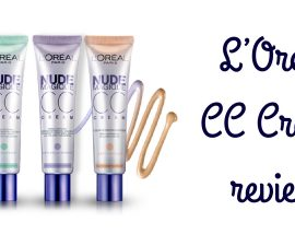 L'Oreal CC Cream Review TheFuss.co.uk
