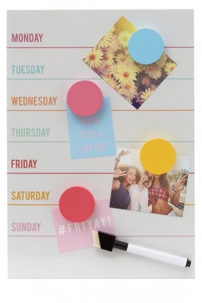 New Look Whiteboard Weekly Planner