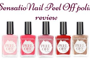 SensatioNail Peel Off Polish Review