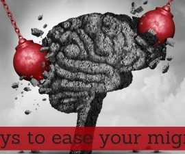 6 ways to ease your migraines TheFuss.co.uk