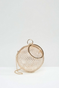 ASOS Cage Sphere Clutch Bag