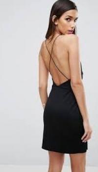 ASOS Double Split Mini Dress