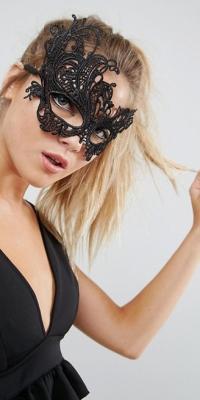 ASOS Halloween Lace Mask