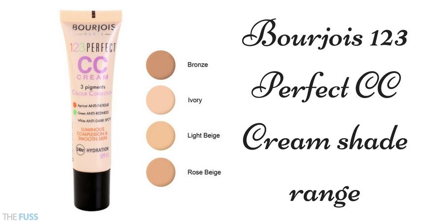 Bourjois CC Cream Shade range TheFuss.co.uk