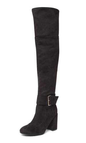 Dorothy Perkins Black 'Tabitha' Over The Knee Boots