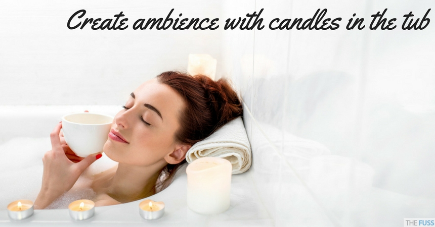 Create ambience with candles for your pamper day TheFuss.co.uk