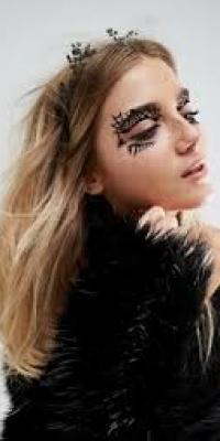Johnny Loves Rosie Halloween Spider Wed Eye Tattoo