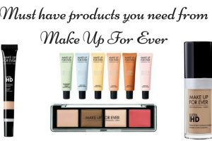 Must have products you need from Make Up For Ever TheFuss.co.uk