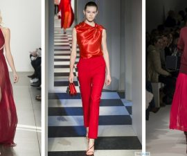 Red - The must-wear colour this season TheFuss.co.uk