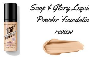 Soap & Glory Liquid to Powder Foundation Review TheFuss.co.uk