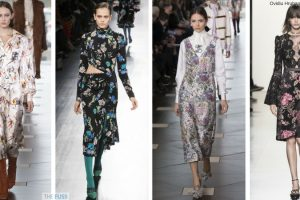Statement florals for autumn and winter