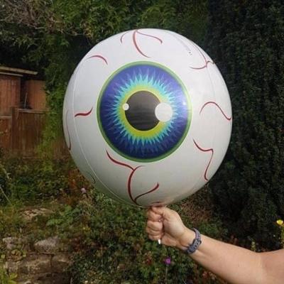 16 Inch Orbz Halloween Eyeball Foil Balloon