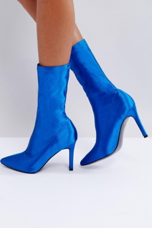 ASOS Evi Heeled Sock Boots