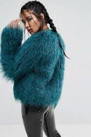 ASOS Mongolian Faux Fur Jacket