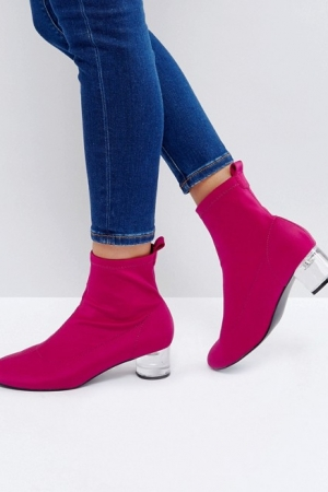 ASOS Rosina Heeled Sock Boots