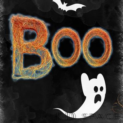 Boo Halloween Outdoor Art