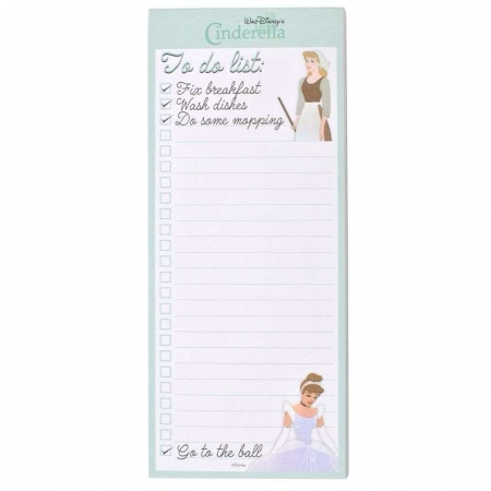 Disney Cinderella To Do List Pad