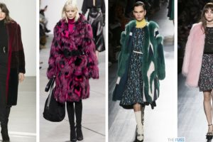 Faux Fur Coats On The Catwalk For AW17 TheFuss.co.uk