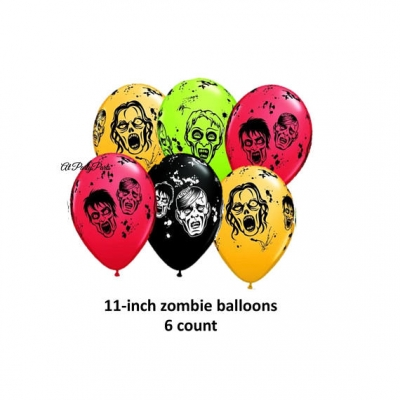 Halloween Zombie Balloons
