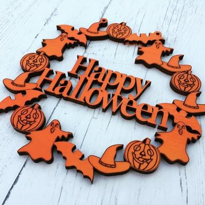 Happy Halloween Door Wreath