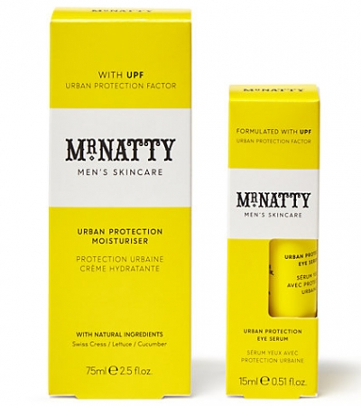 Mr Natty Urban Protection Moisturiser And Eye Serum Save Face Kit