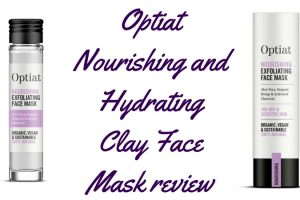 Optiat Nourishing and Hydrating Clay Face Mask Review TheFuss.co.uk