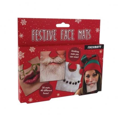 Paladone Festive Face Mats