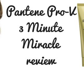 Pantene Pro-V 3 Minute Miracle Review TheFuss.co.uk