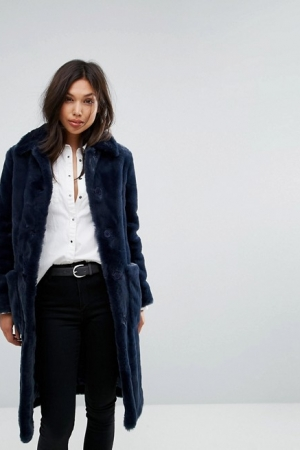 Parka London Super Soft Faux Fur Coat