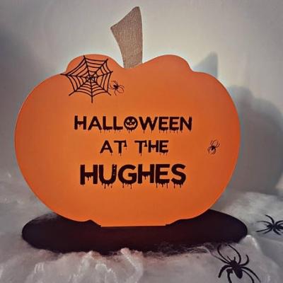 Personalised Halloween Decoration
