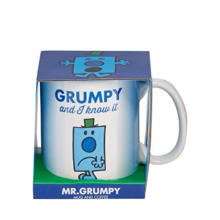 STOCKING FILLERS Mr Grumpy Mug And Coffee Set