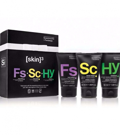 Scaramouche And Fandango Men's Grooming Triple Skincare Pack